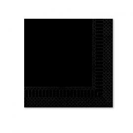TOVAGLIOLO NERO 2 VELI 25X25 PZ.100
