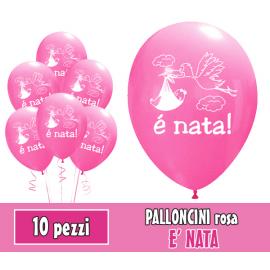 PALLONCINI E' NATA - Pz.10 - ø cm.30