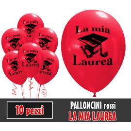 PALLONCINI LAUREA - Pz.10 - ø cm.30
