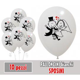 PALLONCINI SPOSINI - Pz.10 - ø cm.30