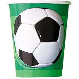 BICCHIERI CALCIO (3D - Soccer) - 8 Pz.