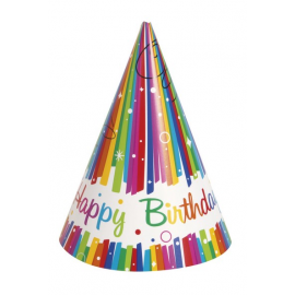 CAPPELLINI RAINBOW HAPPY BIRTHDAY - 8 Pz.