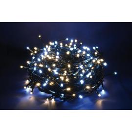 1000 LED - LUCE BIANCA/CALDA (Uso interno ed esterno / 8 giochi di luce) 50 mt