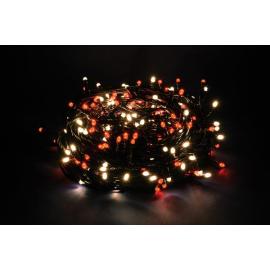 1000 LED - LUCE ROSSA/CALDA (Uso interno ed esterno / 8 giochi di luce) 50 mt