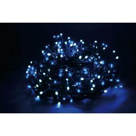 180 LED - LUCE BLU/BIANCA (Uso interno ed esterno / 8 giochi di luce) 9 mt