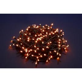 180 LED - LUCE CALDA (Uso interno ed esterno / 8 giochi di luce) 9 mt