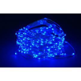 180 MICROLED - LUCE BLU (Uso interno ed esterno / 8 giochi di luce) 9 mt
