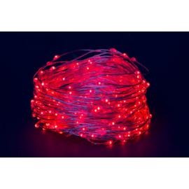 180 MICROLED - LUCE ROSSA (Uso interno ed esterno / 8 giochi di luce) 9 mt