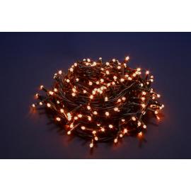 2000 LED - LUCE CALDA (Uso interno ed esterno / 8 giochi di luce) 100 mt