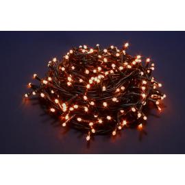 300 LED - LUCE CALDA (Uso interno ed esterno / 8 giochi di luce) 15 mt