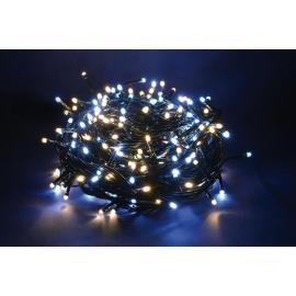 500 LED - LUCE BIANCA/CALDA (Uso interno ed esterno / 8 giochi di luce) 25 mt