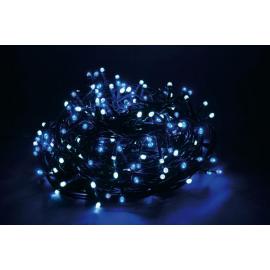 500 LED - LUCE BLU/BIANCA (Uso interno ed esterno / 8 giochi di luce) 25 mt