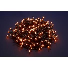 500 LED - LUCE CALDA (Uso interno ed esterno / 8 giochi di luce) 25 mt