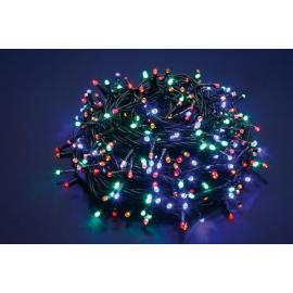 750 LED - LUCE MULTICOLOR (Uso interno ed esterno / 8 giochi di luce) 37,5 mt
