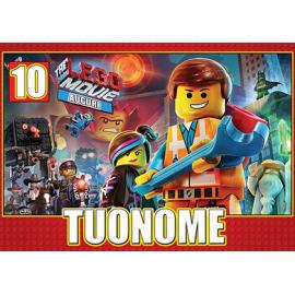 Cialda personalizzata LEGO rettangolare (stampa su ostia)
