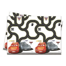 TOVAGLIA PLASTICA CARS CM.120X180