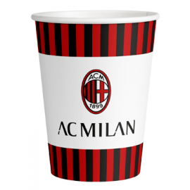 BICCHIERI MILAN (logo ufficiale) - 266ml PZ.8