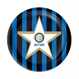 PIATTI INTER (logo ufficiale) - 18cm PZ.8