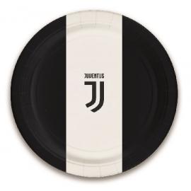 PIATTI JUVENTUS (logo ufficiale) - 18cm PZ.8