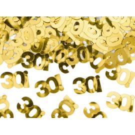CONFETTI PER DECORAZIONI - NUMERO 30 - 15gr